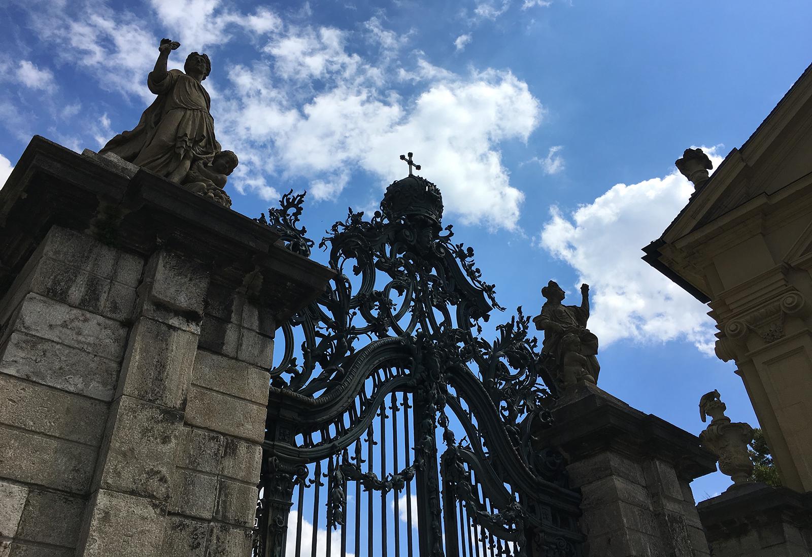Garden gate - Würzburg Residence