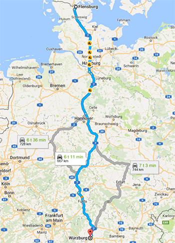 EU Map - Germany
