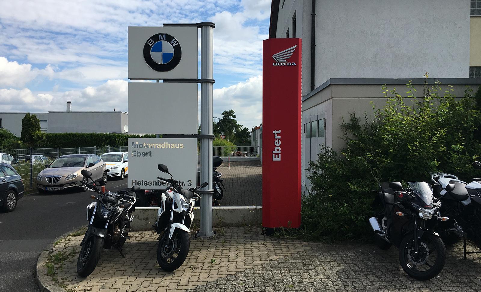 MC Adventure summer 2016: Motorradhaus Ebert in Wurzbug was the savior of my vacation. Top job!