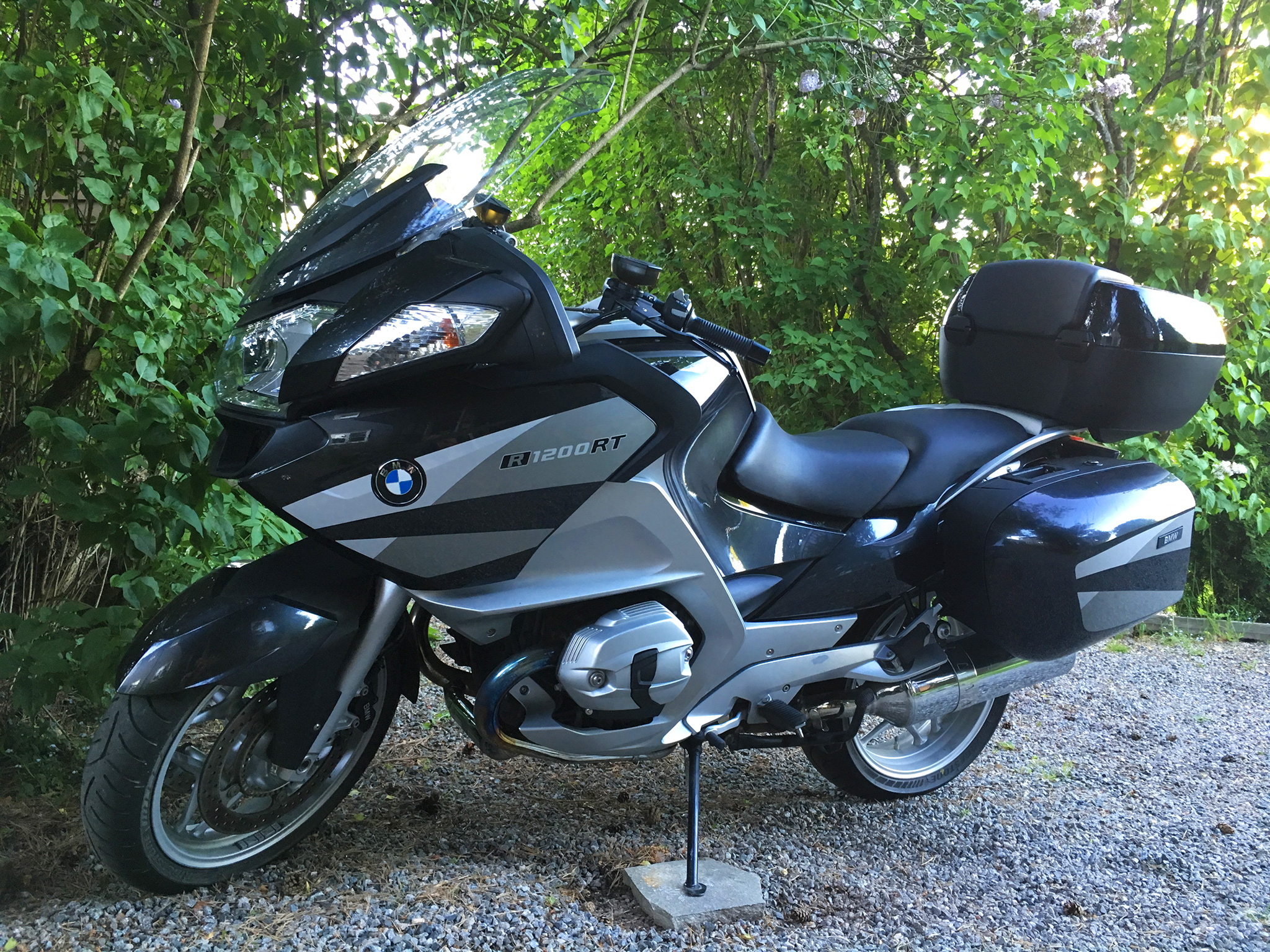 BMW R1200RT, definitely one of the better tourers money can buy