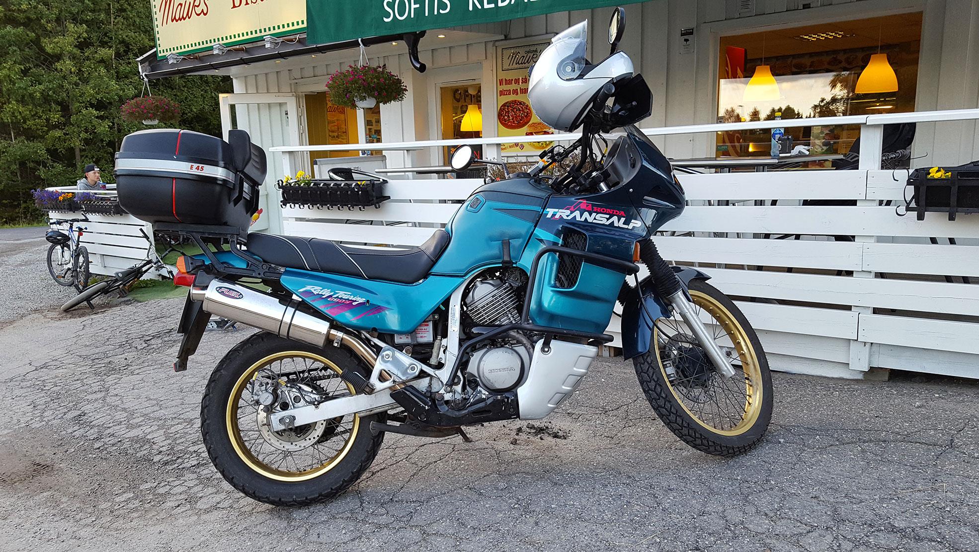 Honda XL600V TransAlp -94 picture