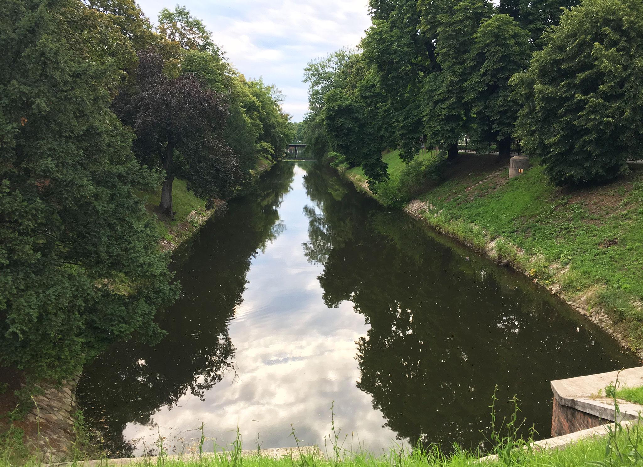 Wroclaw canal