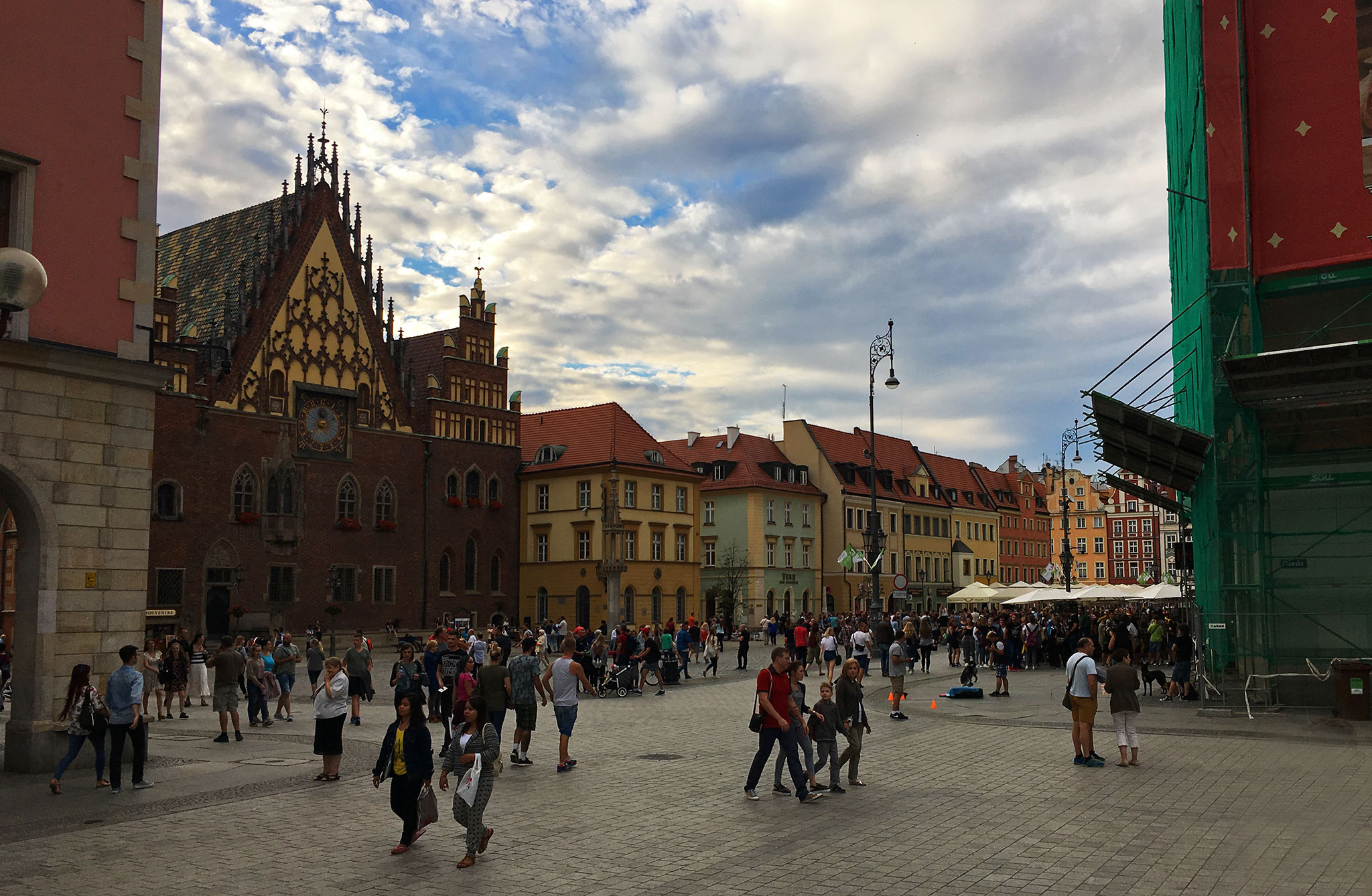 Wroclaw main square picture
