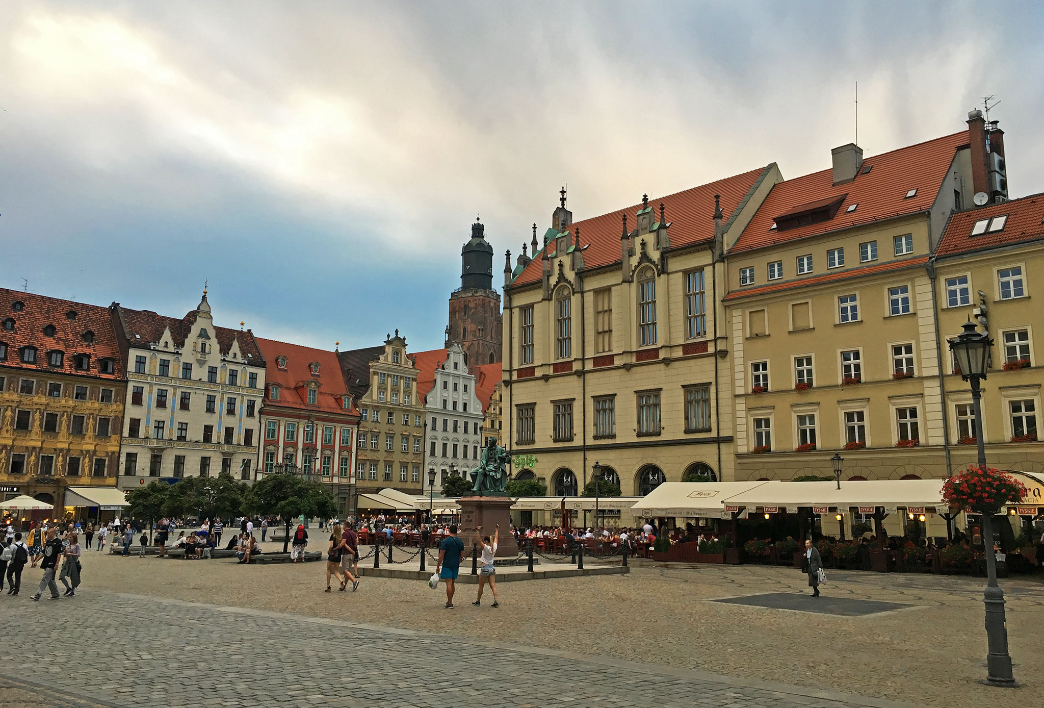Wroclaw Second square picture