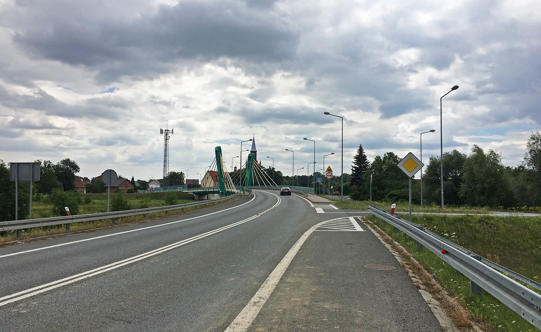 Adventure: Empty Polish road picture