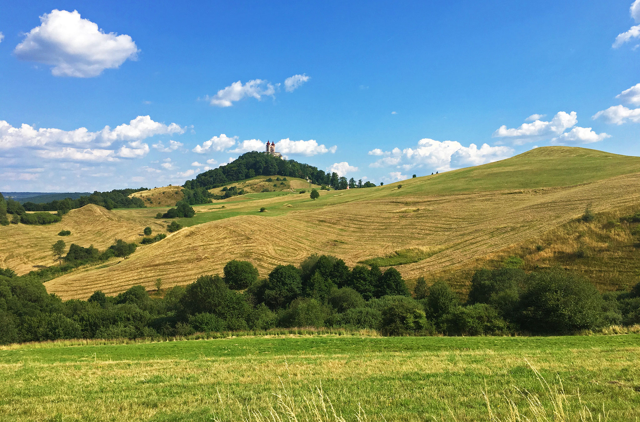 Rolling Slovakian Hills