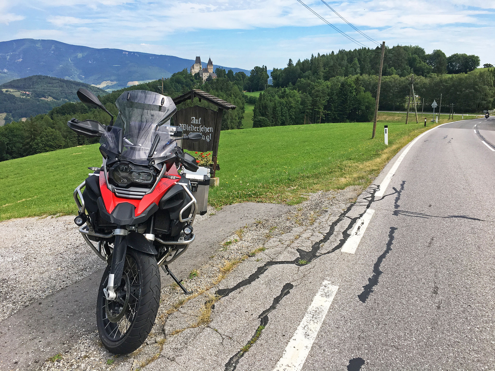 The Beemer and Austrian hills