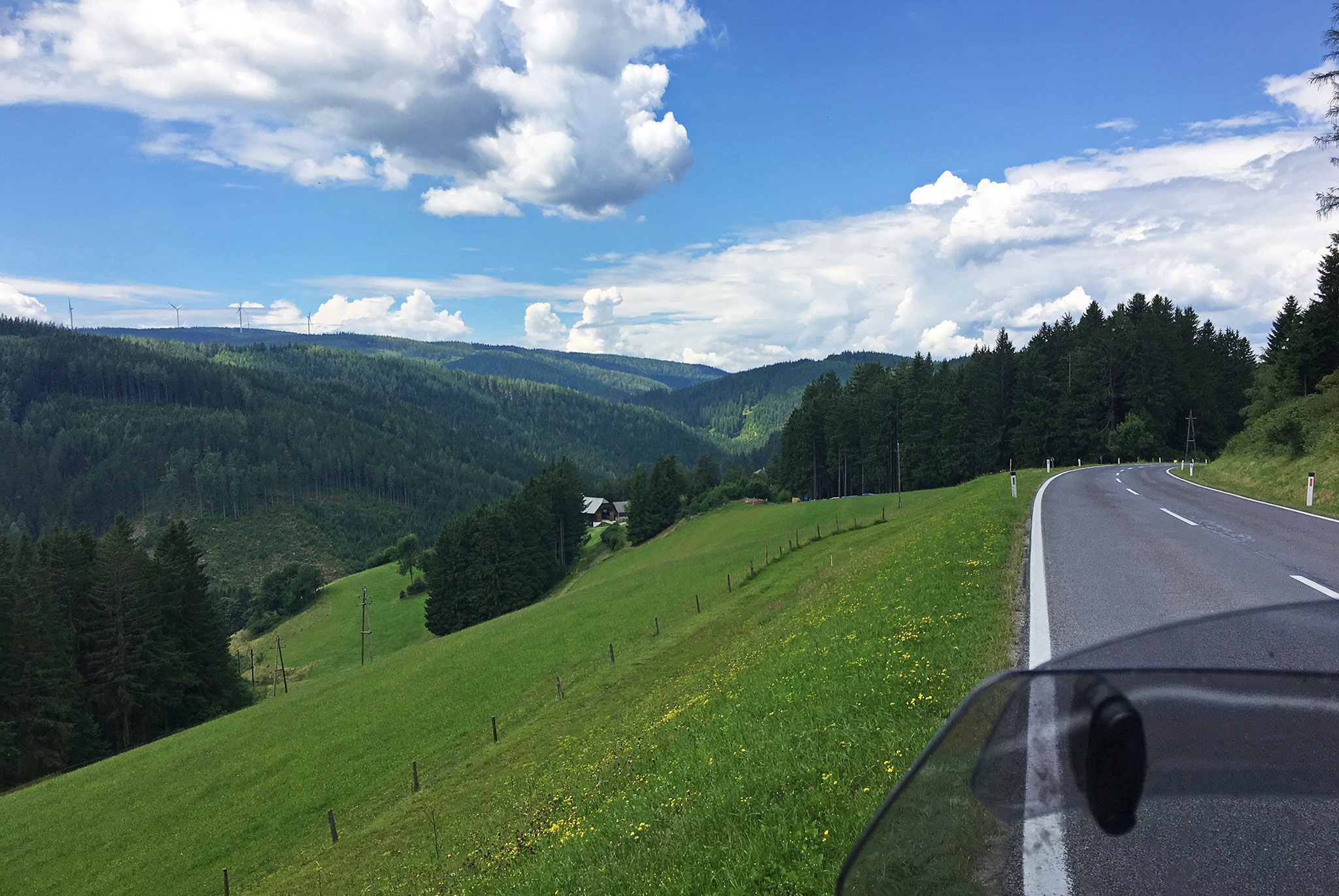 Austrian roads & countryside