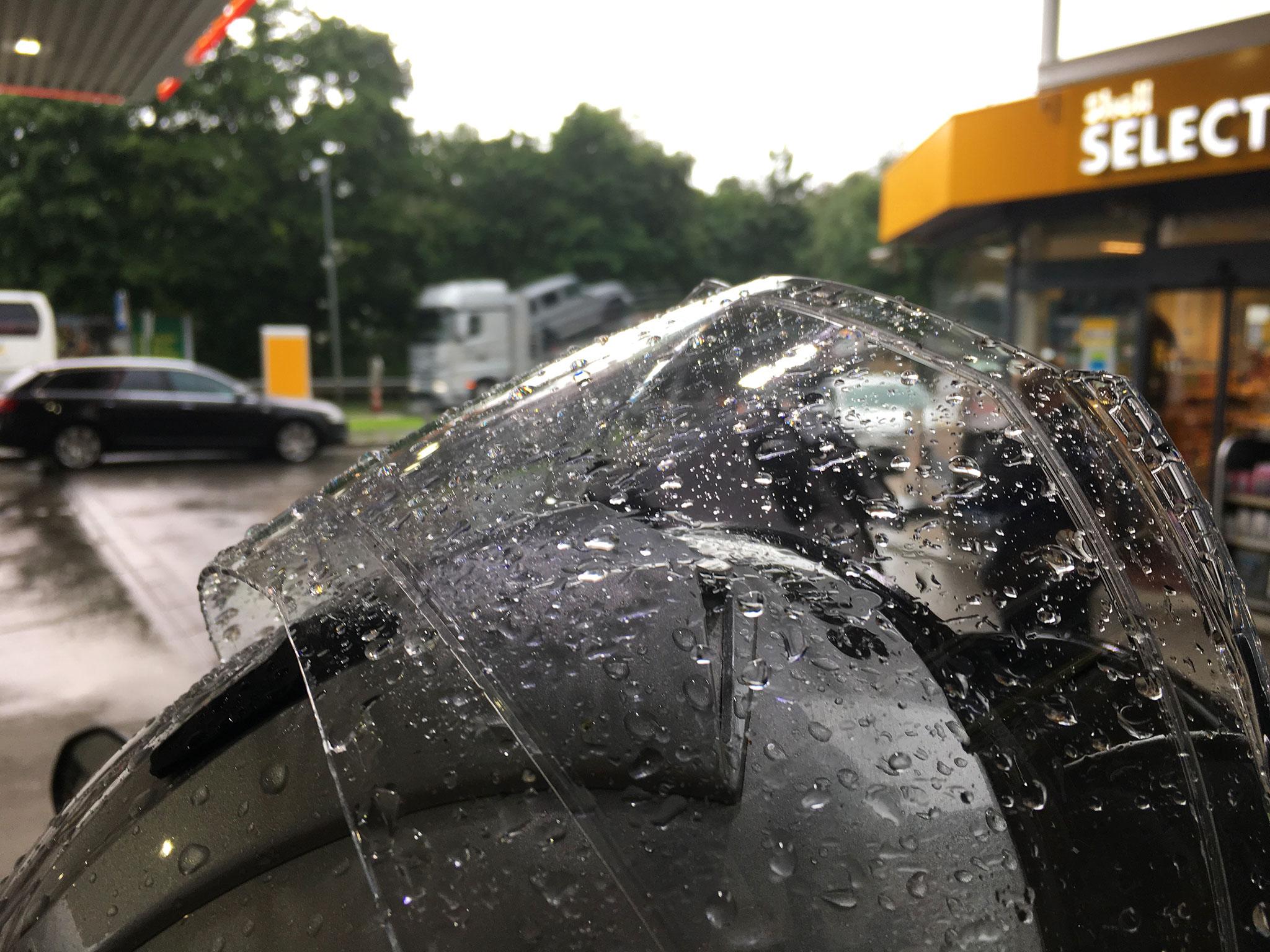 Helmet Wetness