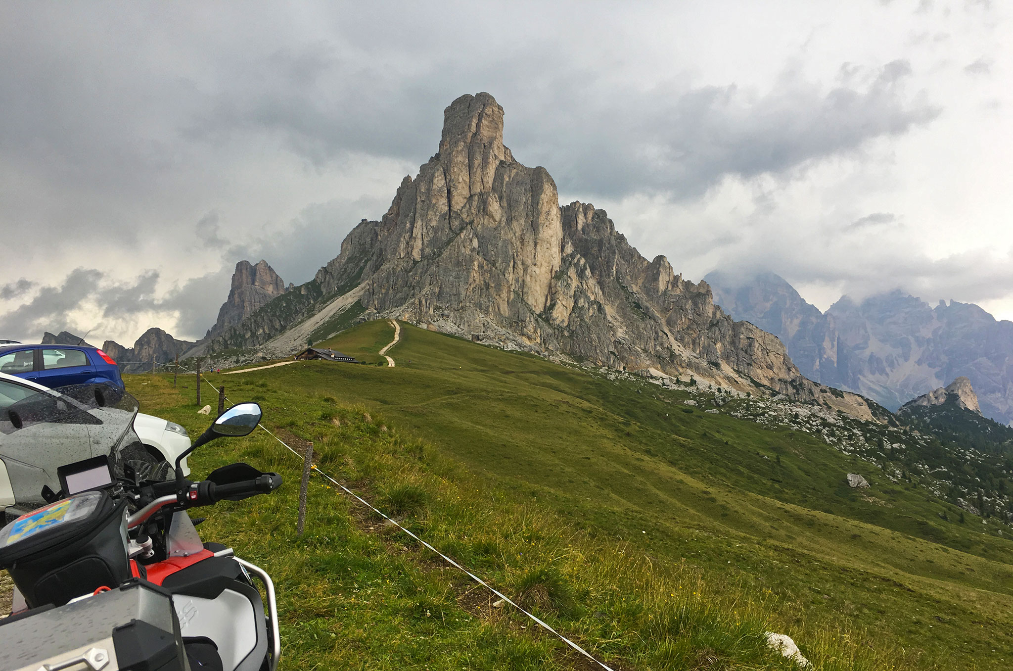 The Dolomites is south Tyrol is something else.