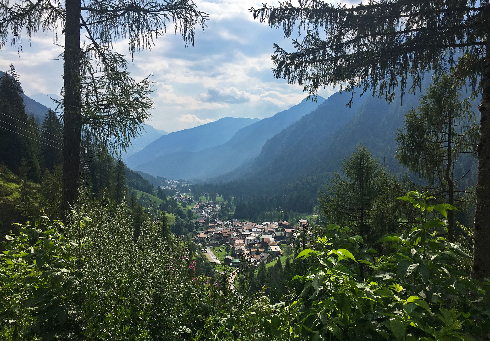 Sottoguda, the valley where i stayed, in the South Tirol region of Belluno