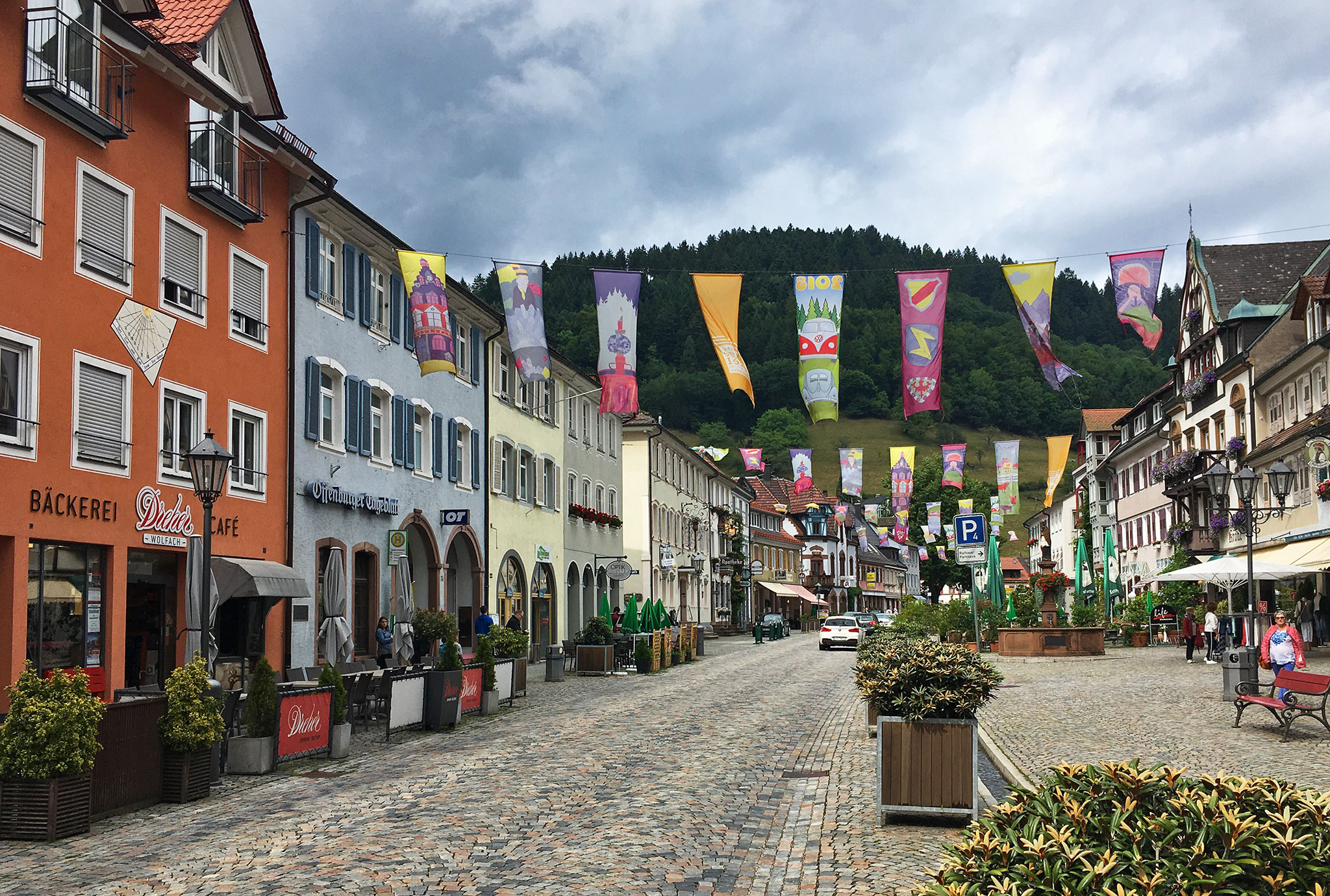 Wolfach is a town in the Black Forest and part of the Ortenaukreis in Baden-Württemberg.