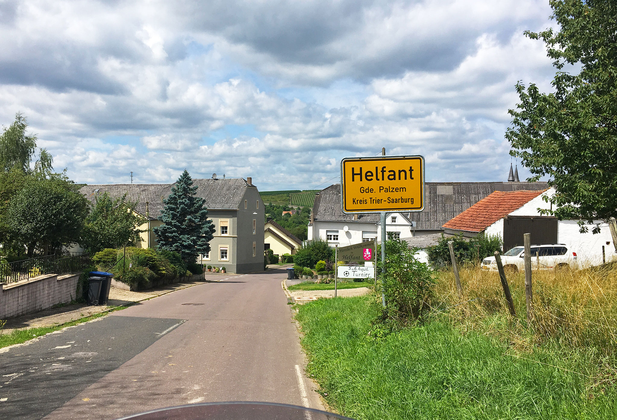 The world famous city of Helfant, in Germany (just kidding)