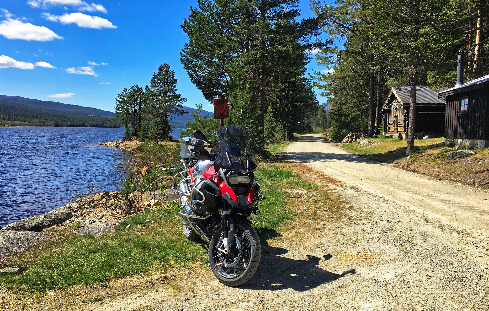 Into Vassfaret, a national park in Norway