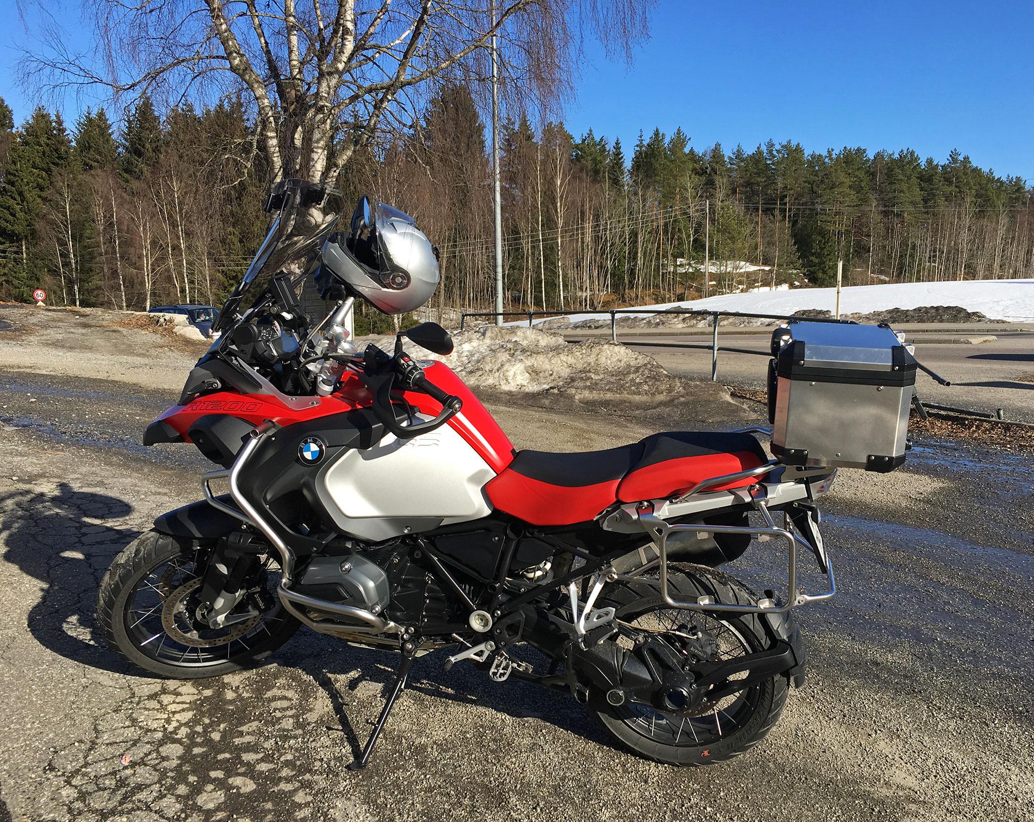 Spring ride: BMW R1200GS Adventure