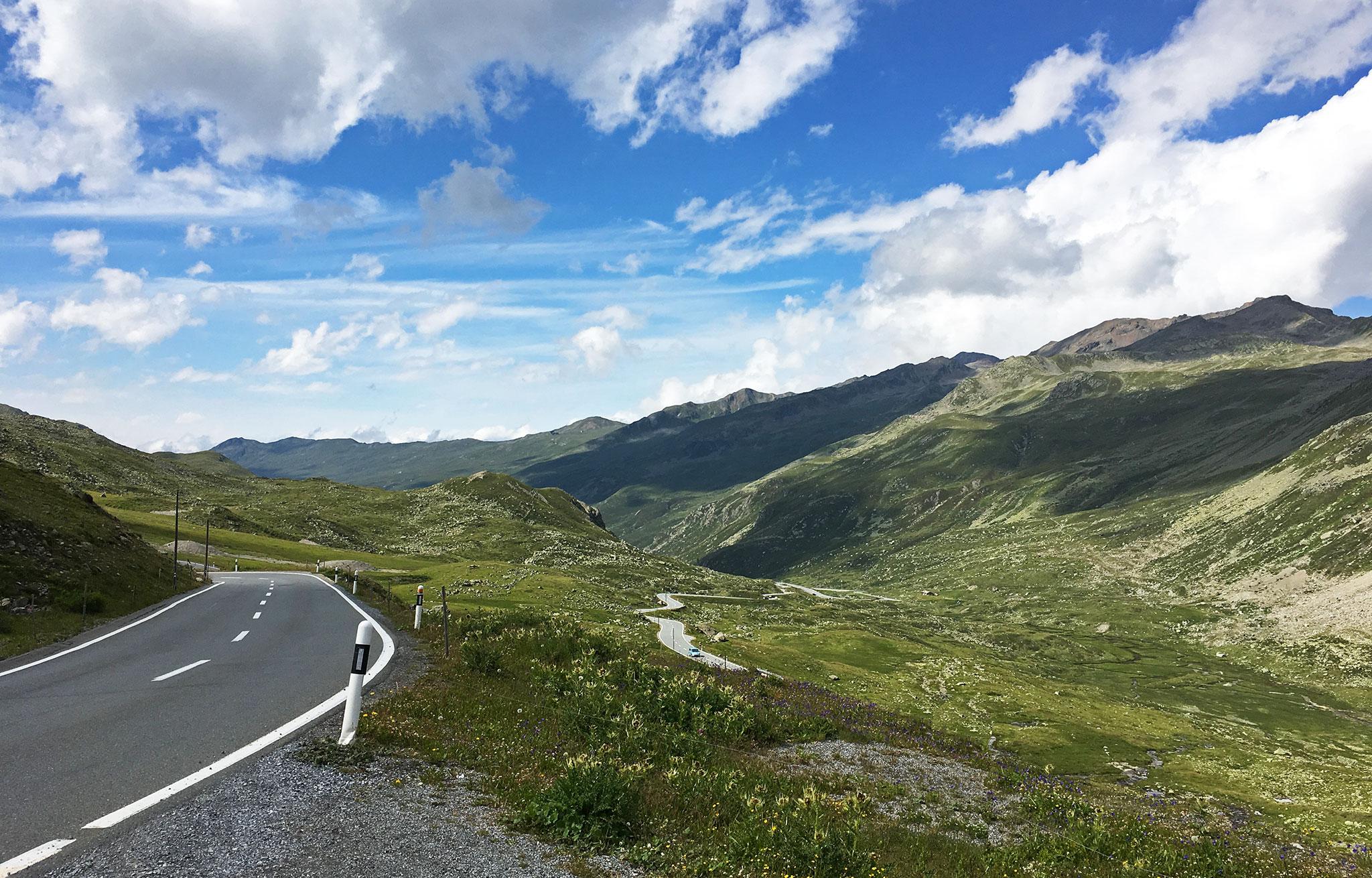 Summer Adventure 2017: Swiss mountain roads