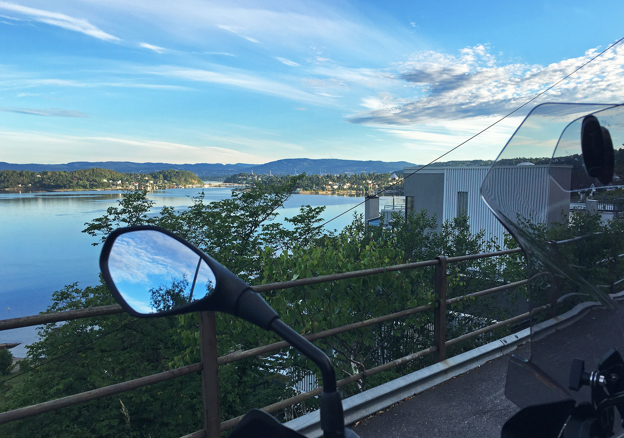 2018 Summer Adventure start view: Inner Oslo Fjord