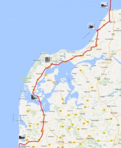 Danish route