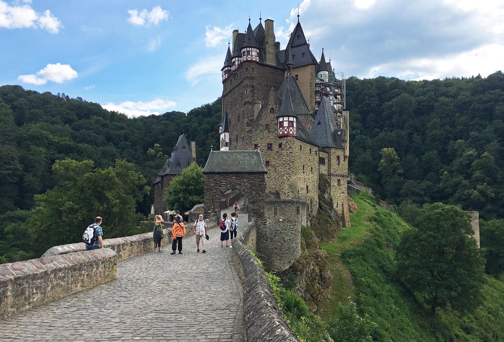 Eltz Castle gate