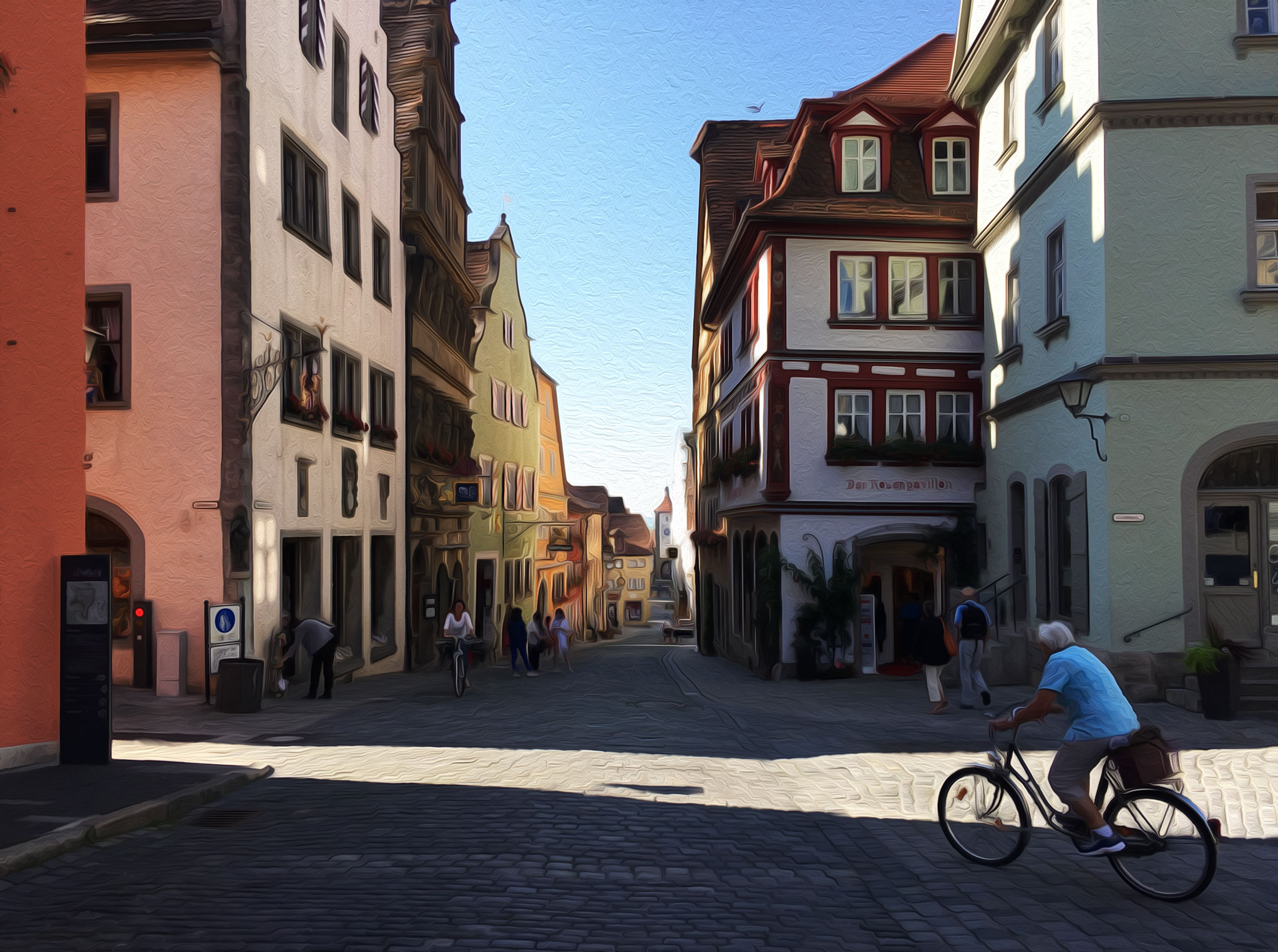 Morning in Rothenburg