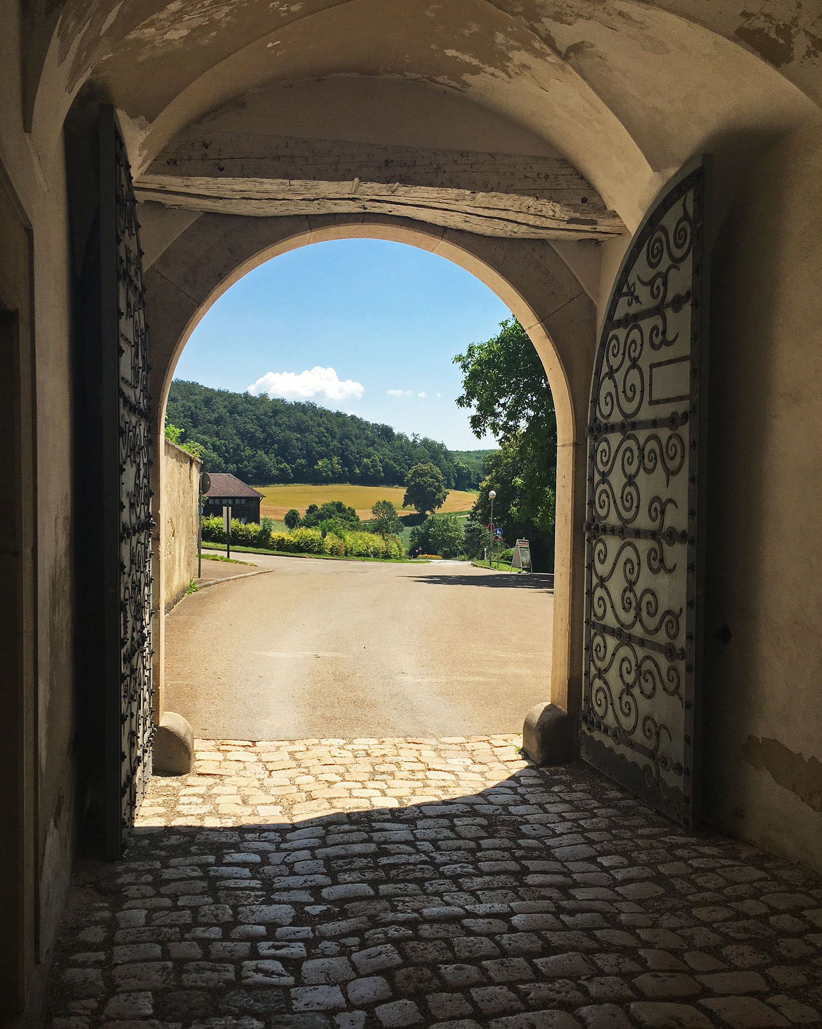 Neresheim Abbey gate