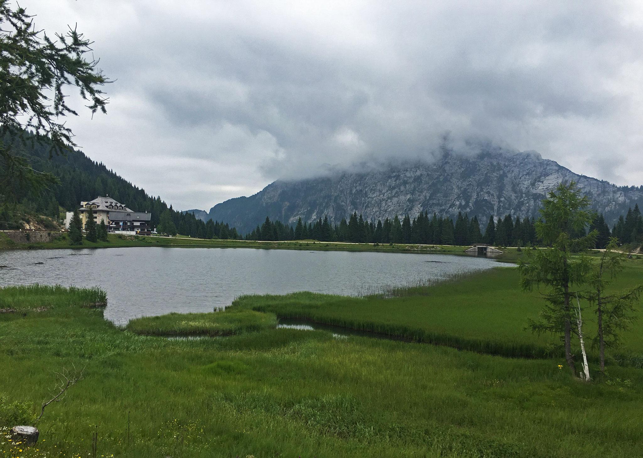 Passes: Lago di Pramollo along Strada Provinciale 110