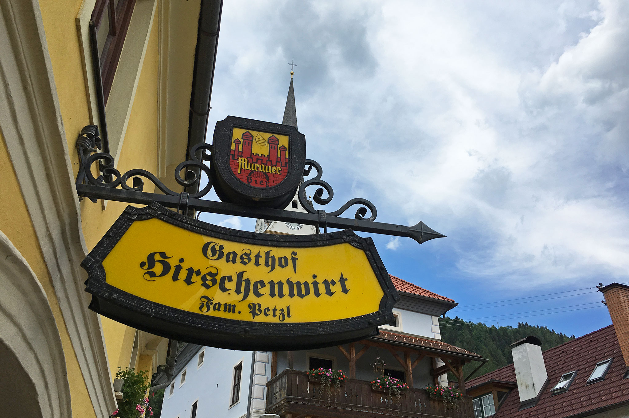 Gasthaus Hirschenwirt, open since 1423, one of the oldest in Styria, Austria