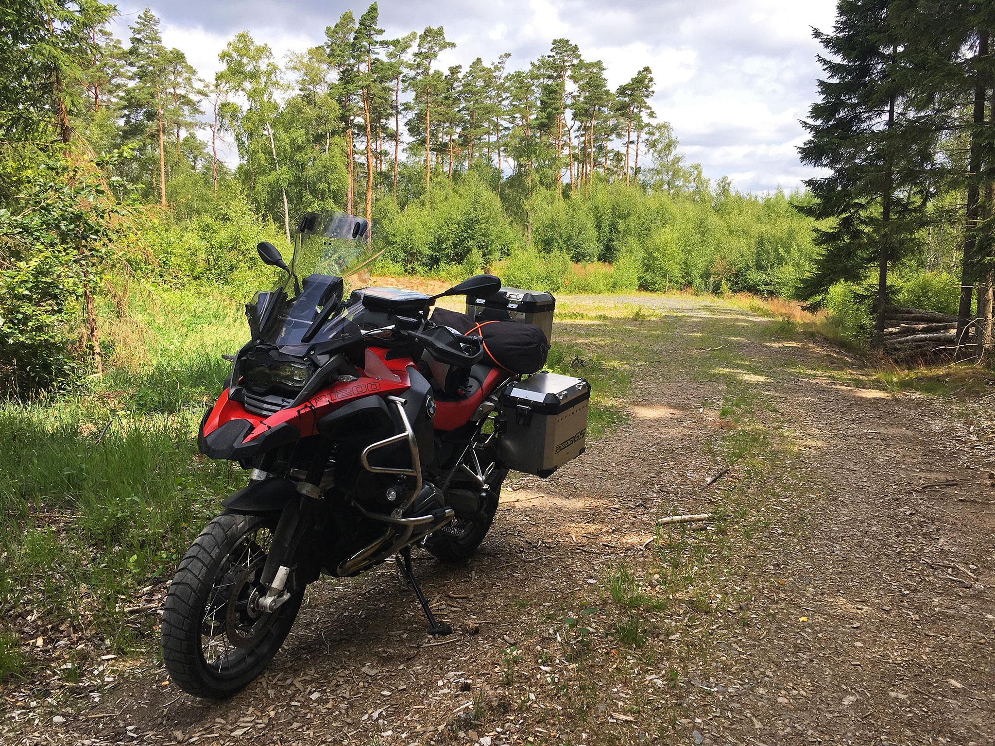 Good to be back on Swedish gravel & dirt roads