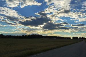 Østfold - Norway and the last miles on small roads en route home