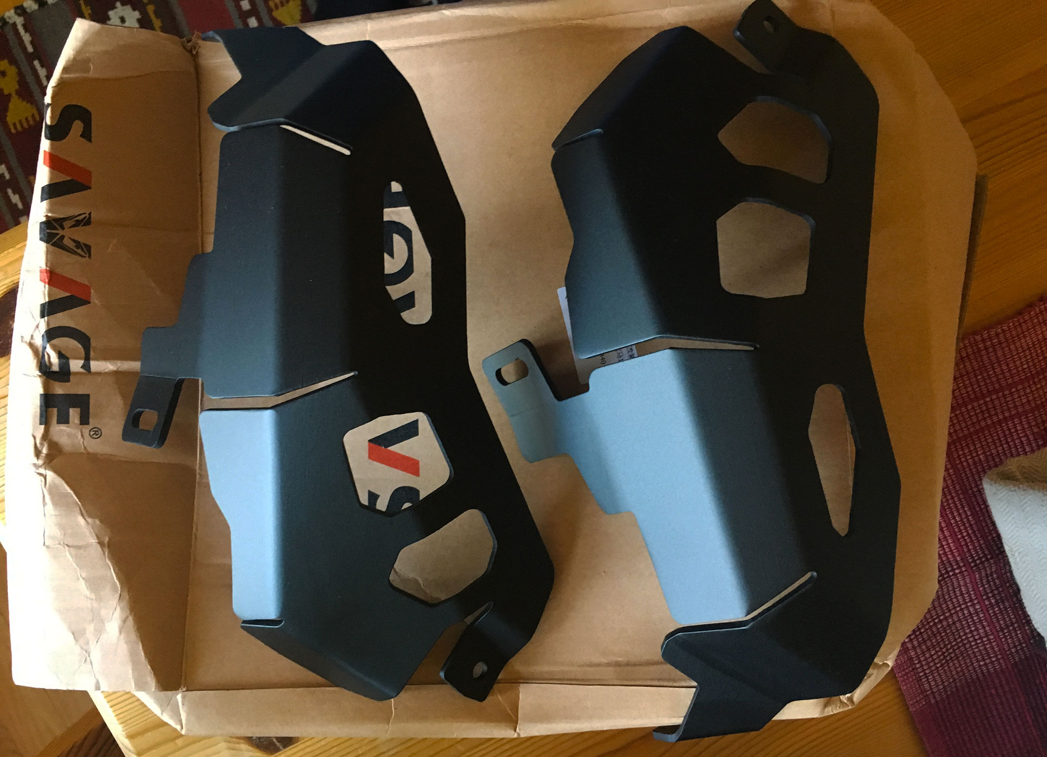 Consuming: A set of cylinder guards for the BMW R1200GS Adventure