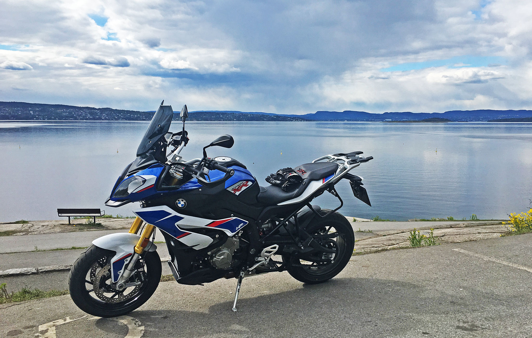 S1000XR by the Oslo fjord