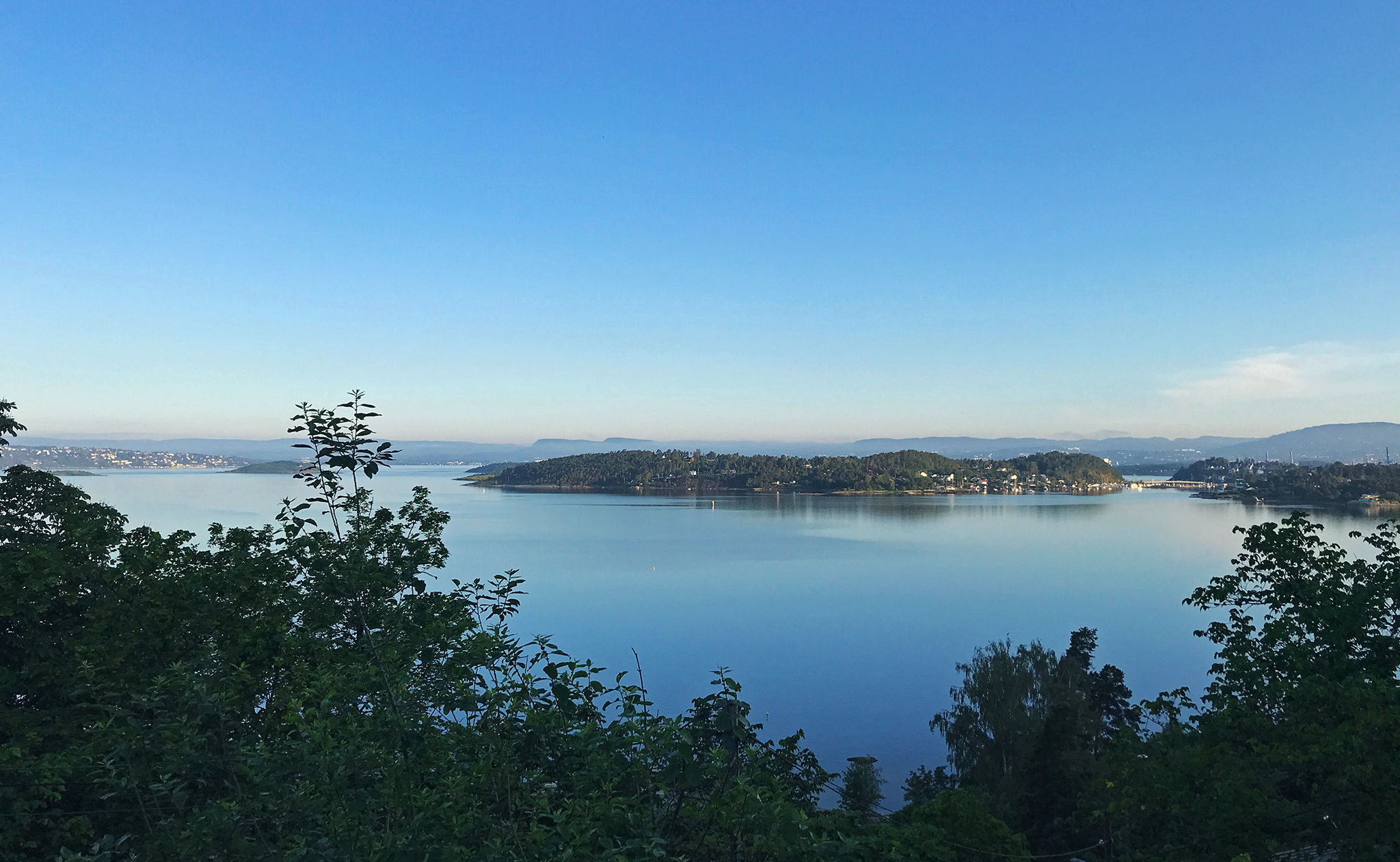 2019 Summer Adventure day 1, inner Oslo fjord @ ca 05:45AM