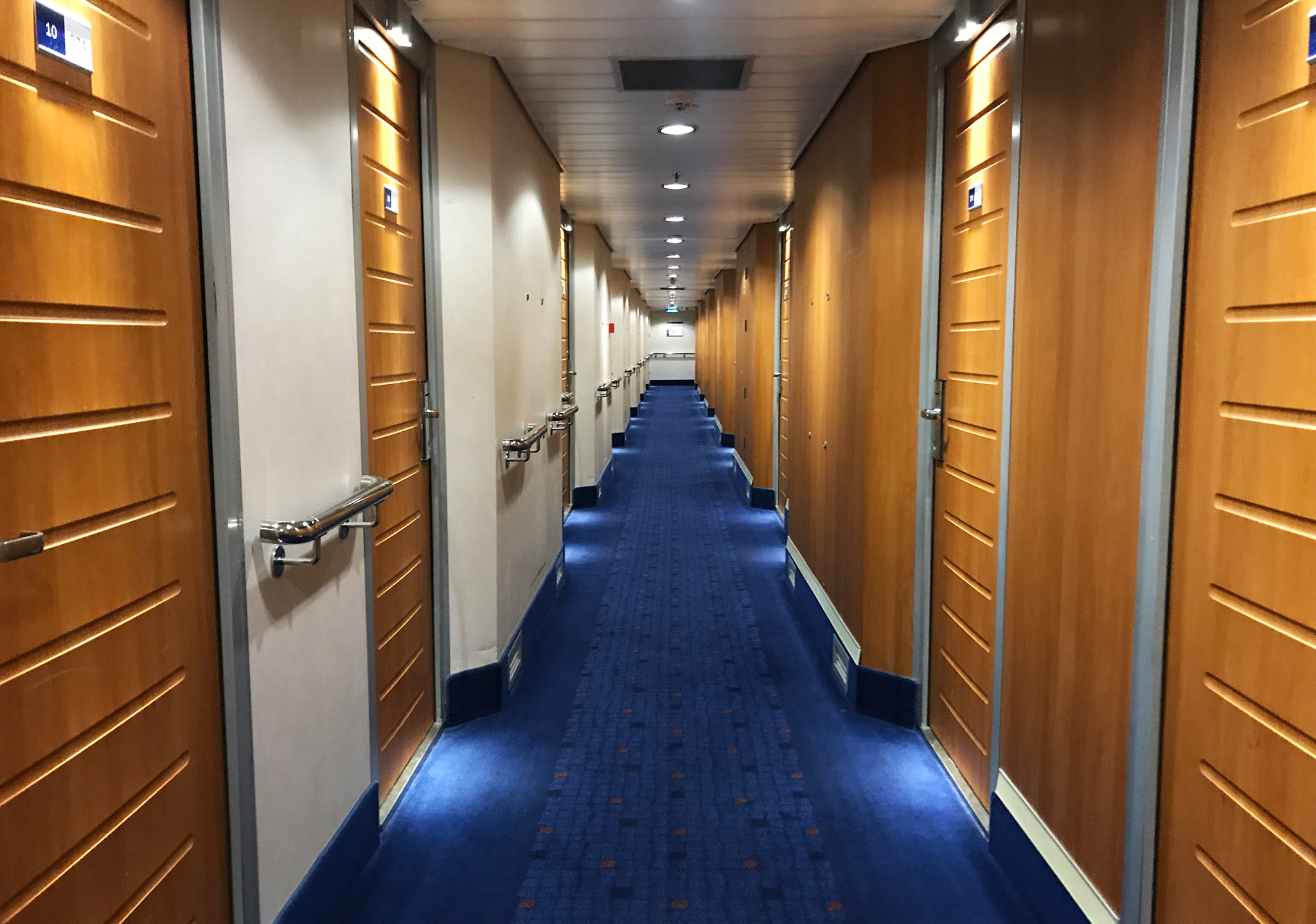 Channel crossing: The cheap cabin deck on Hook of Holland