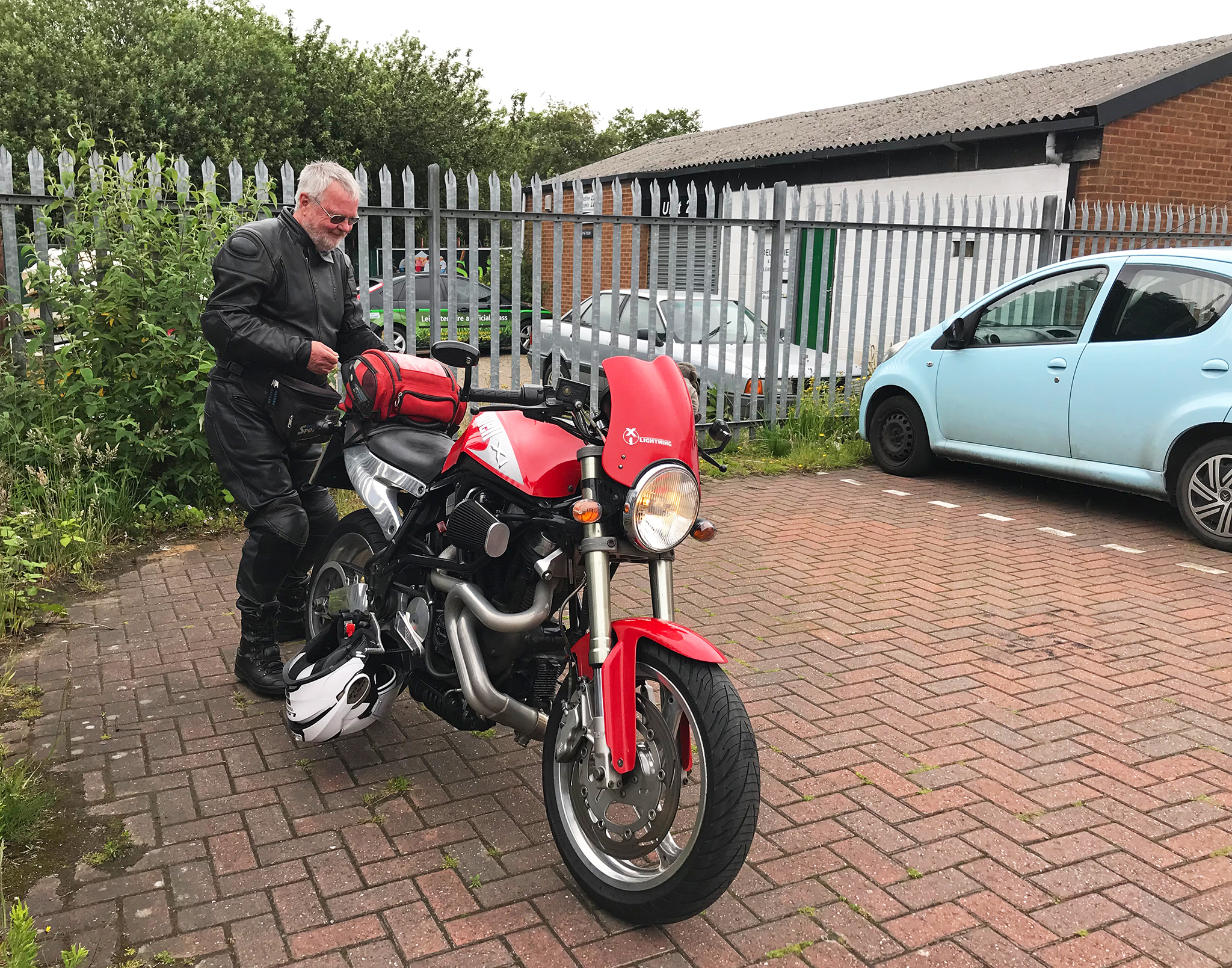 Dave & the Buell Lightning