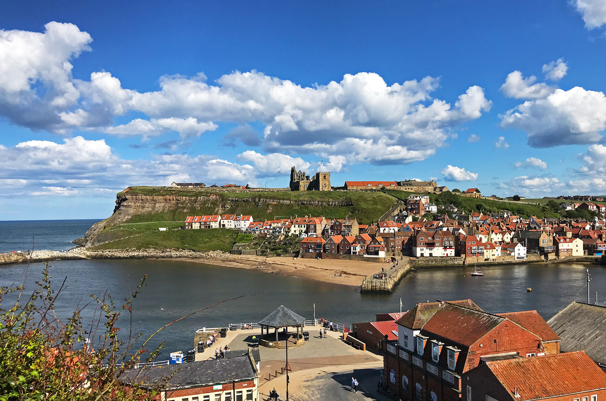 The North Yorkshire east coast town Whitby