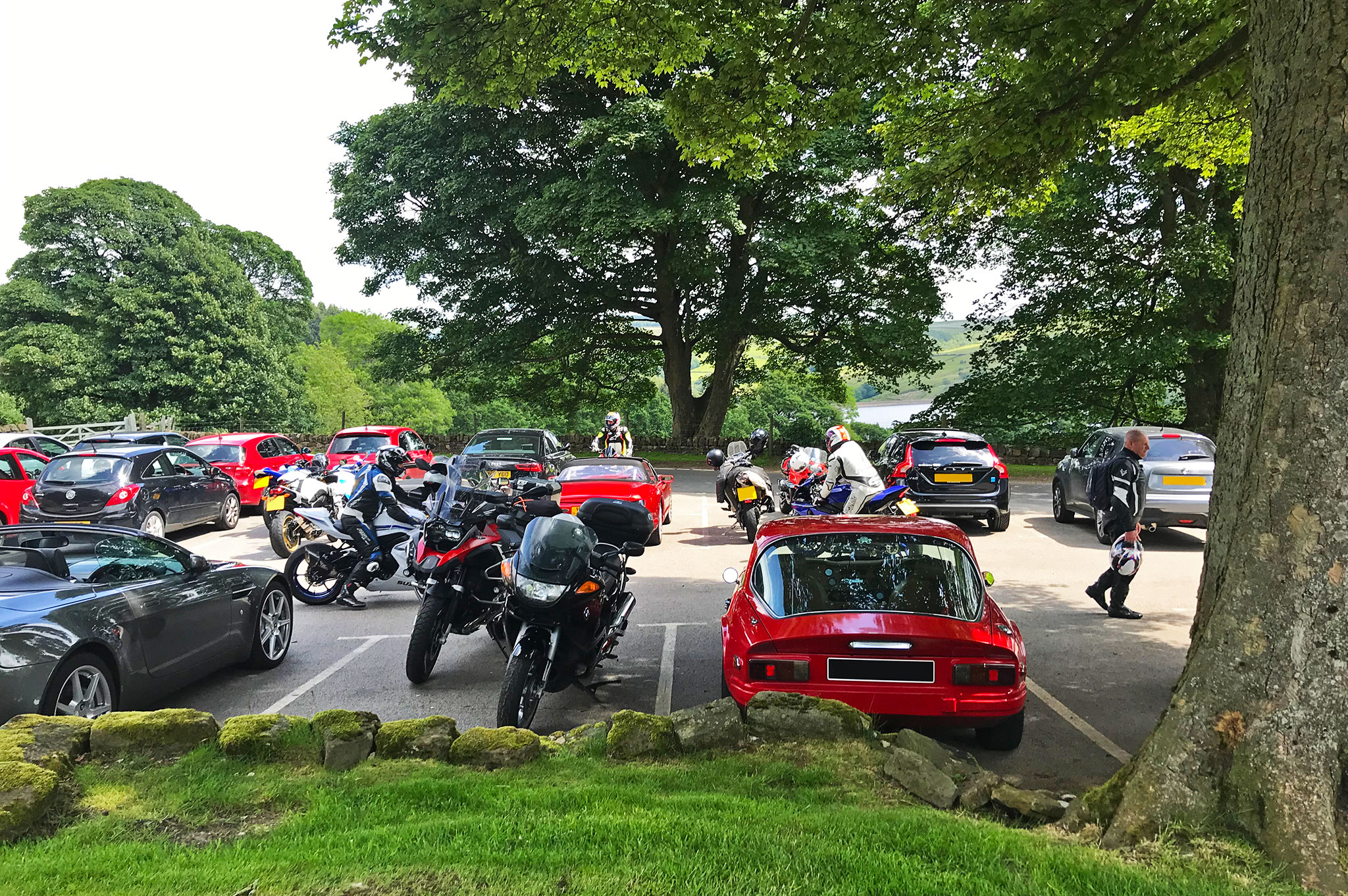 The Strines Inn Parking