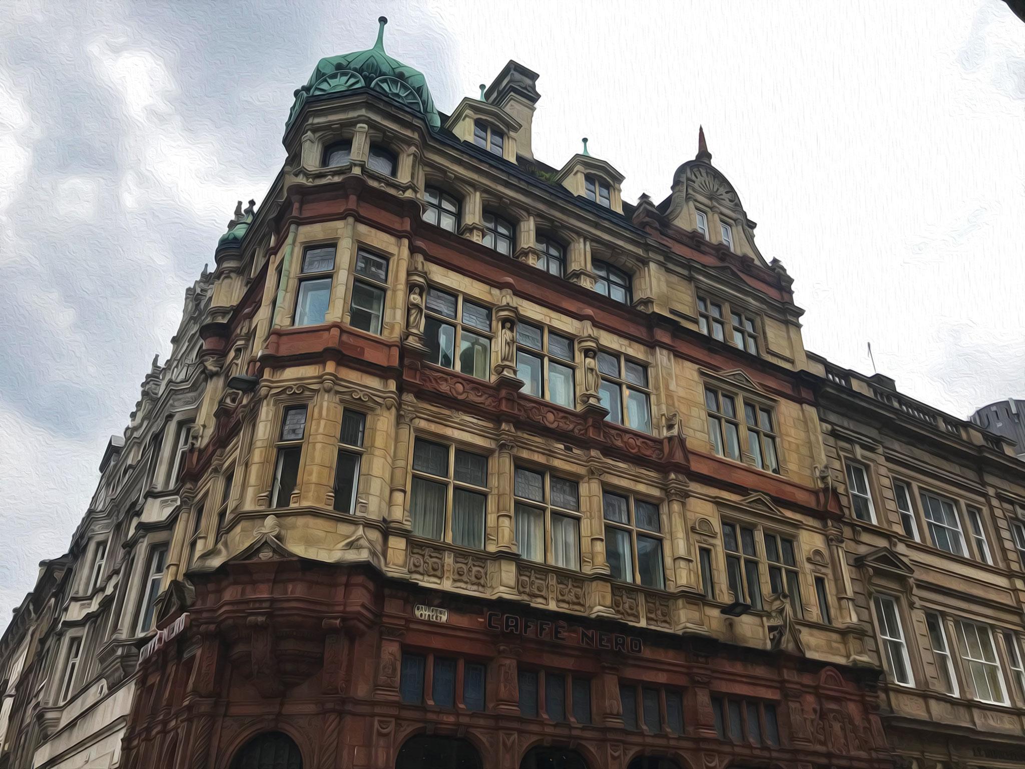 Old building in Brunswick street