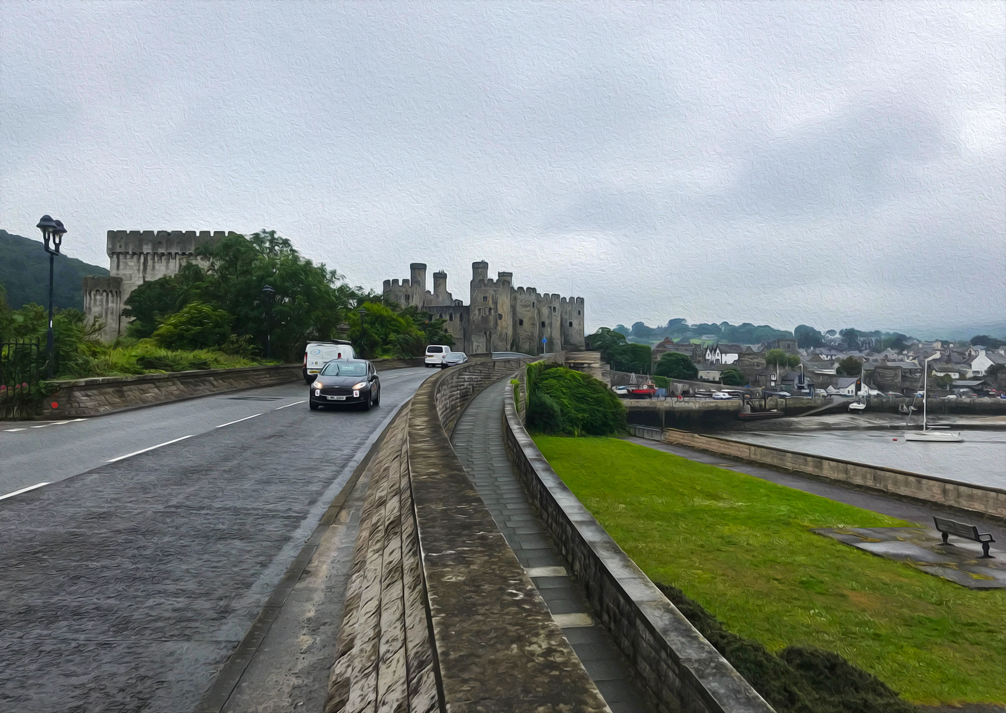 Wales: Conwy and Conwy Castle