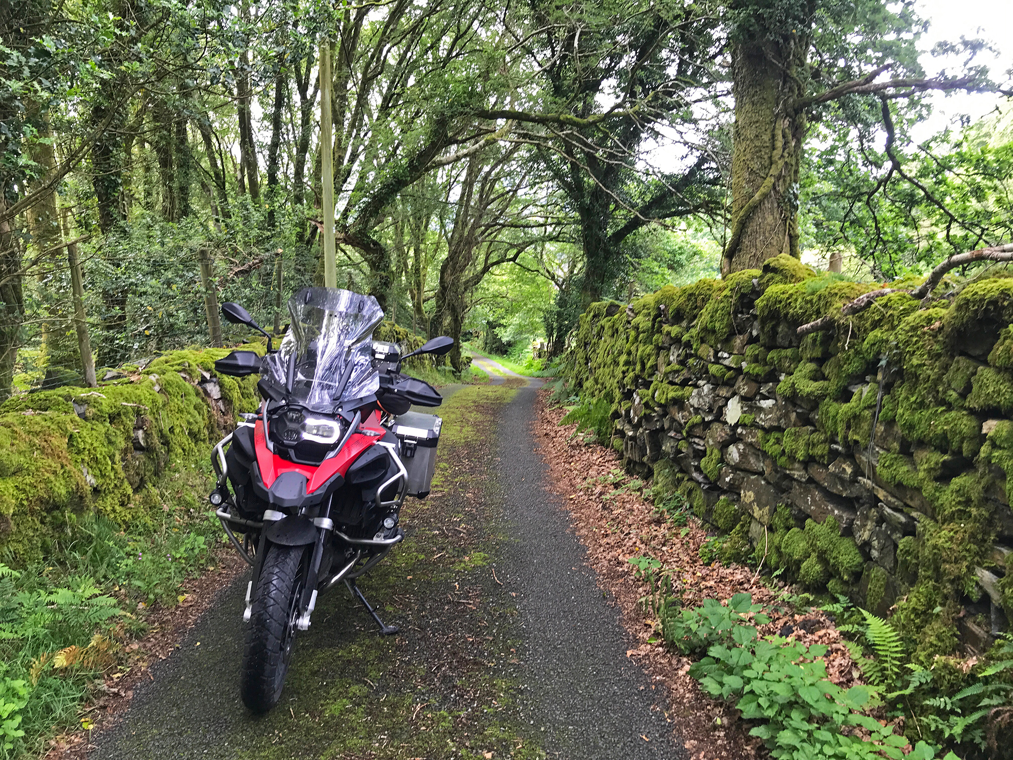 Welsh small roads