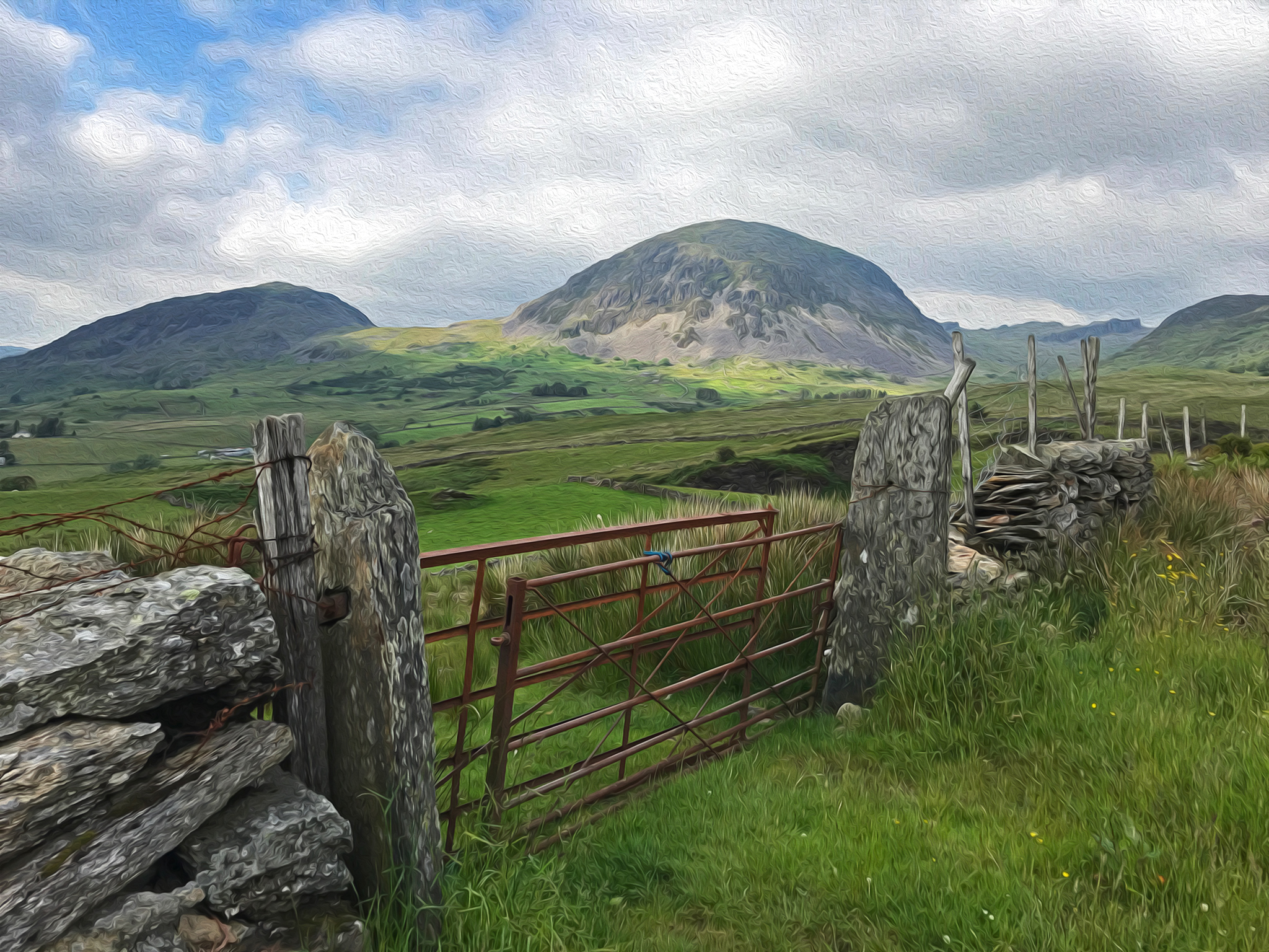 Wales : beautifil mountains