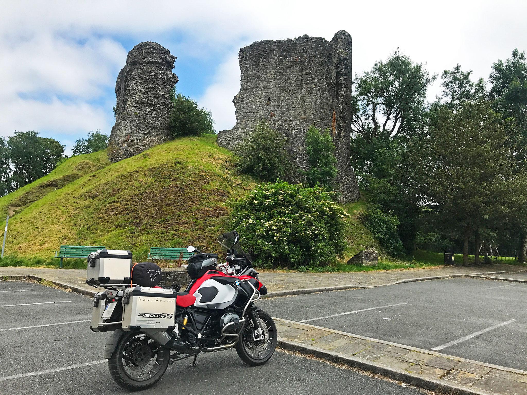 Llandovery Castle ruins