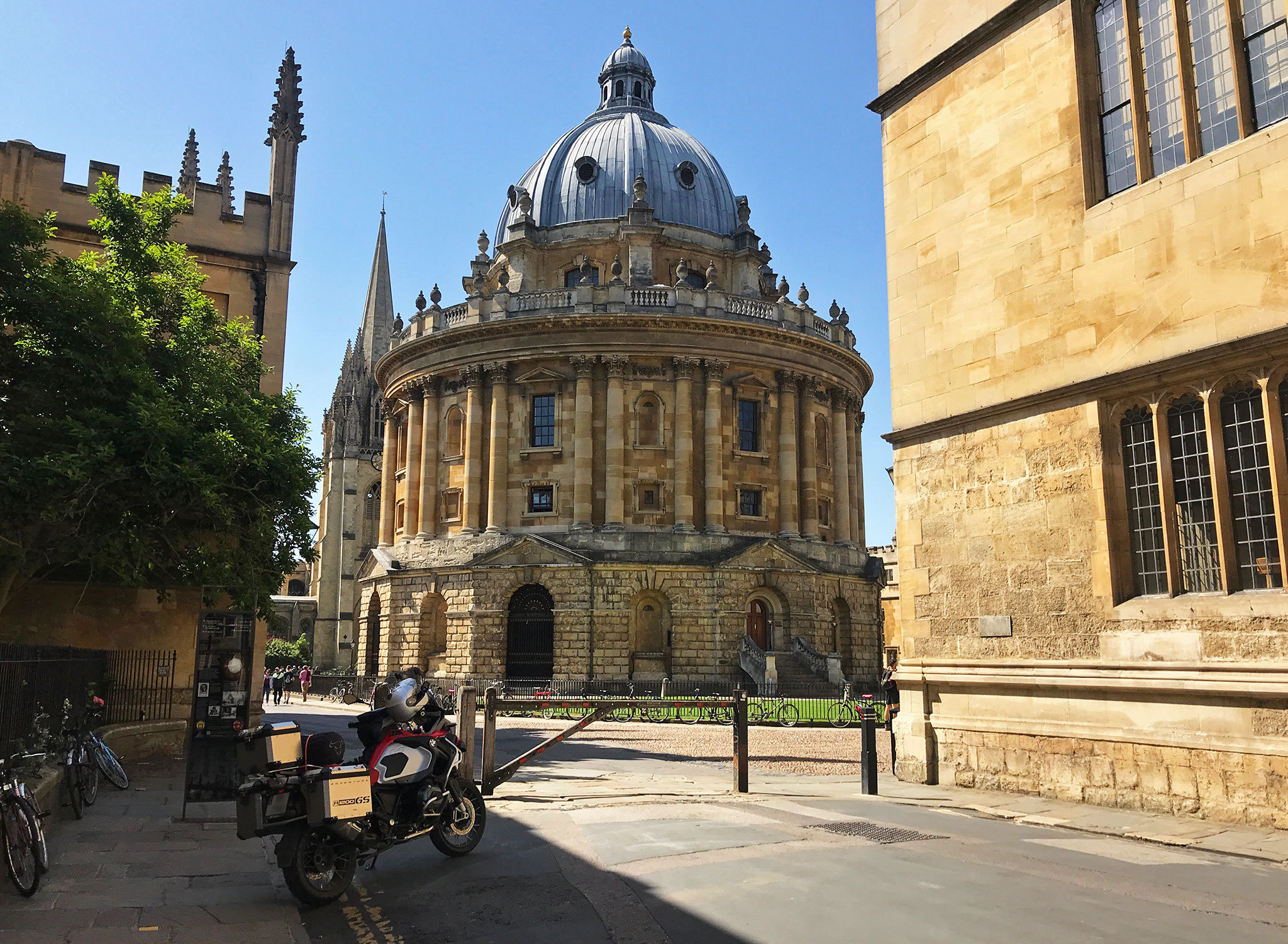 Oxford University, the Radcliffe Camera