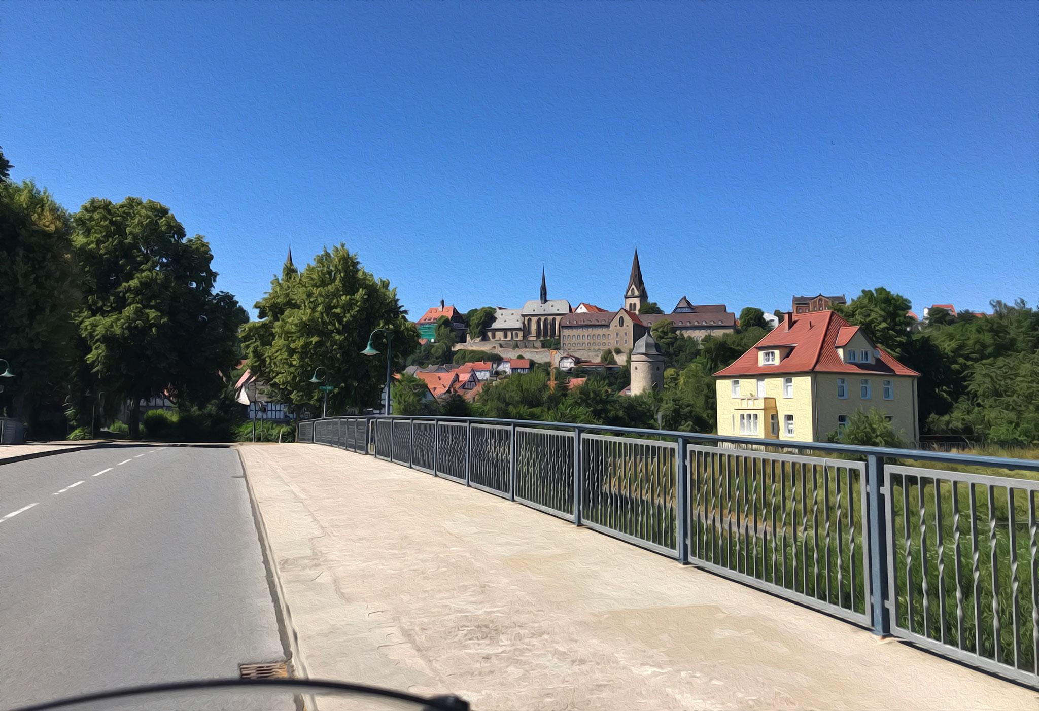 Through Germany: Warburg