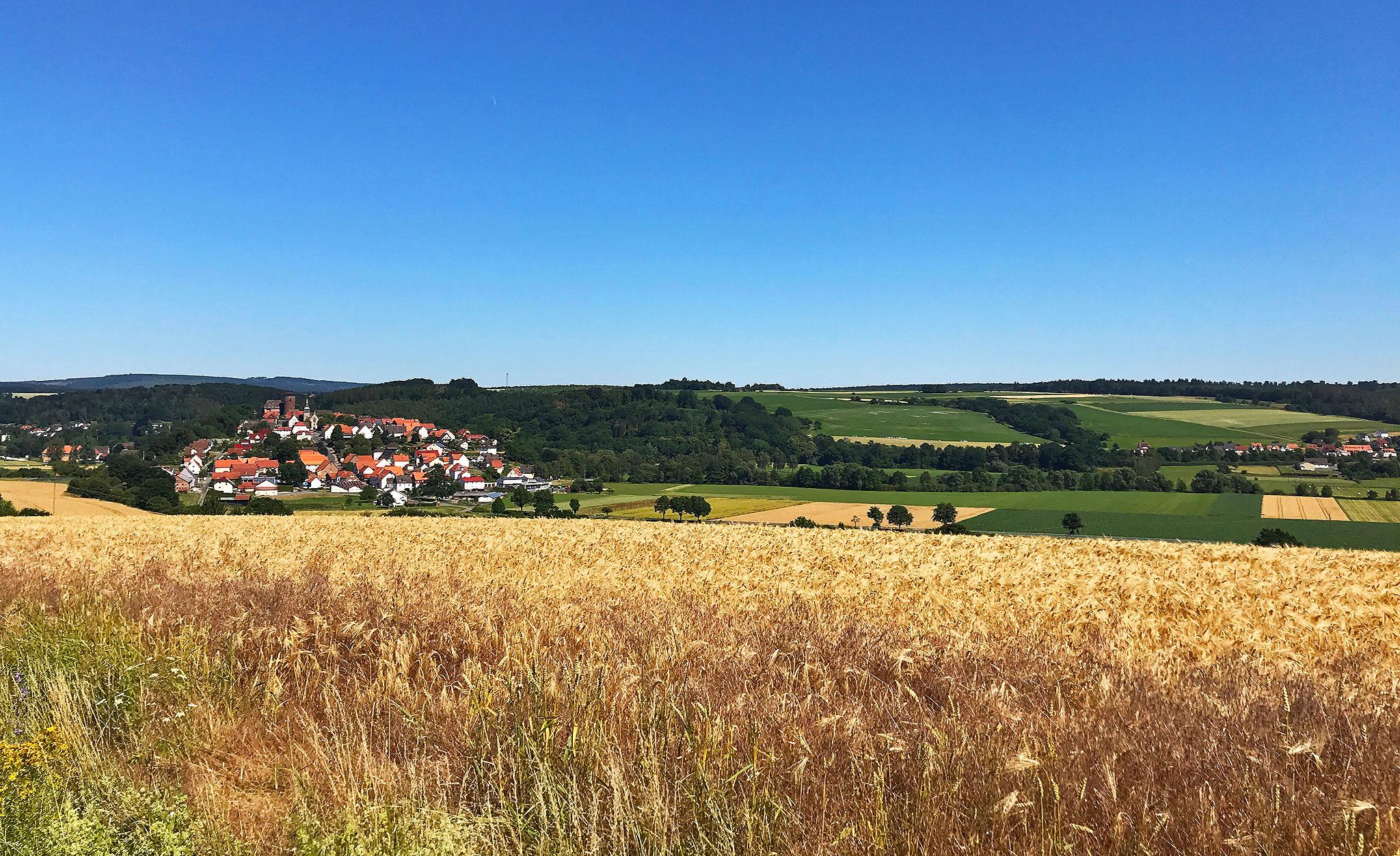 Flohrberg and Ohmsberg bei Deisel