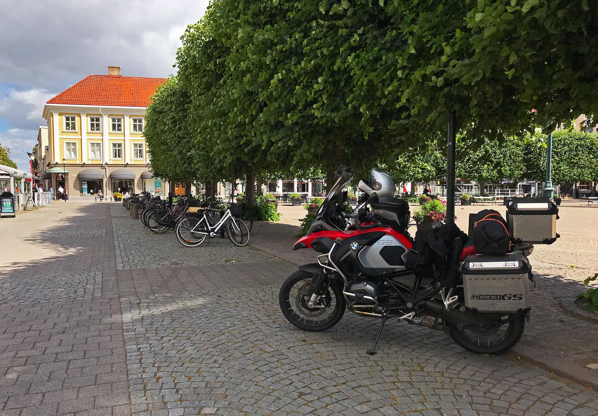 Main square in Landskrona