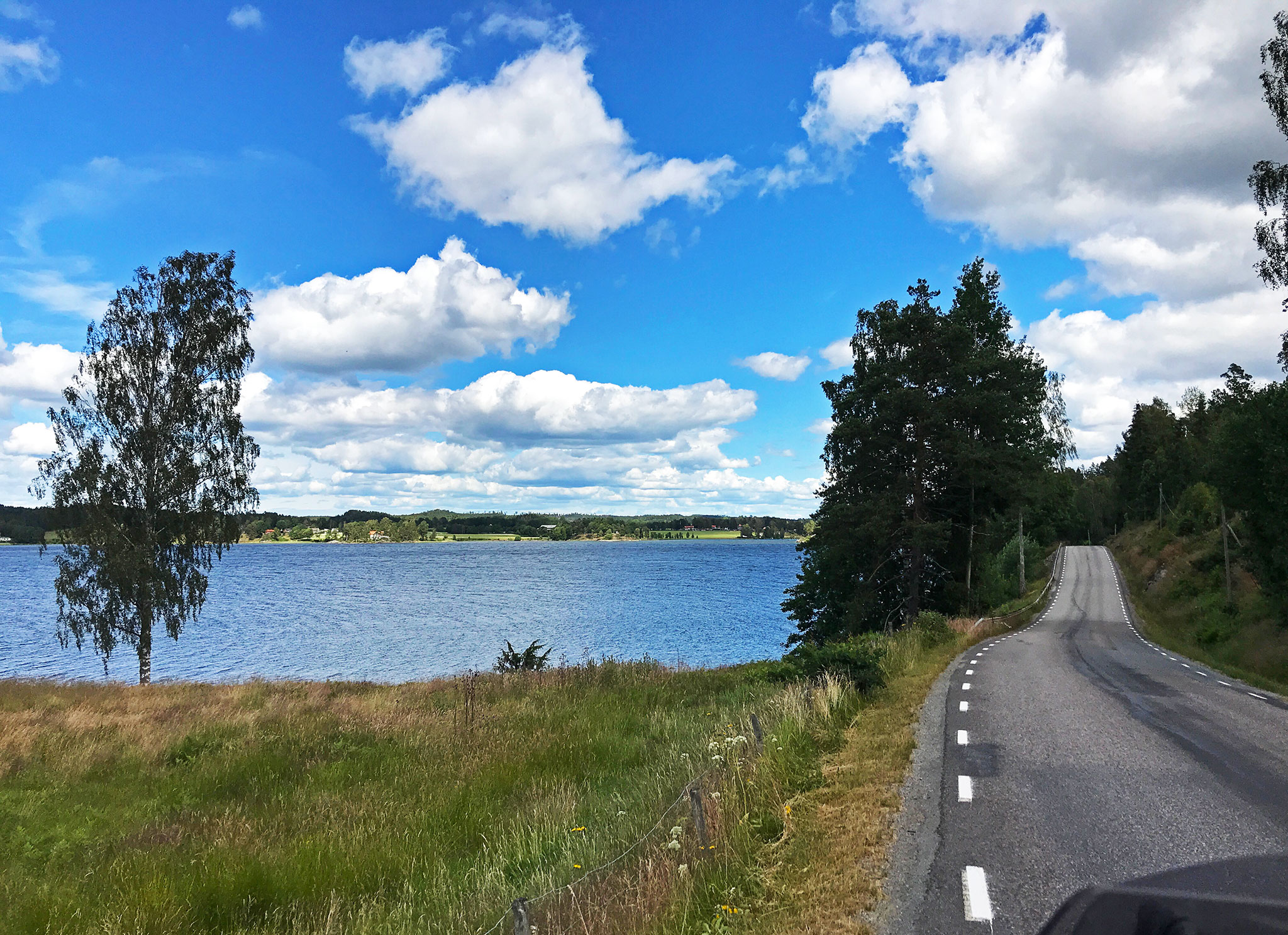 Return north: Countryside riding in Sweden