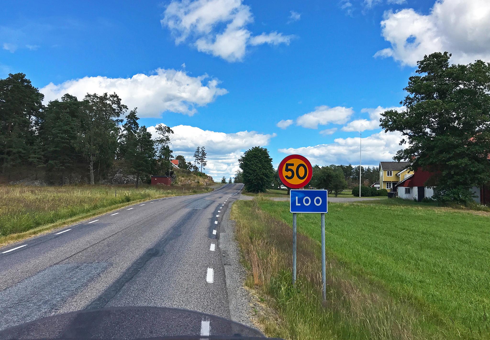 In Sweden early July 2019