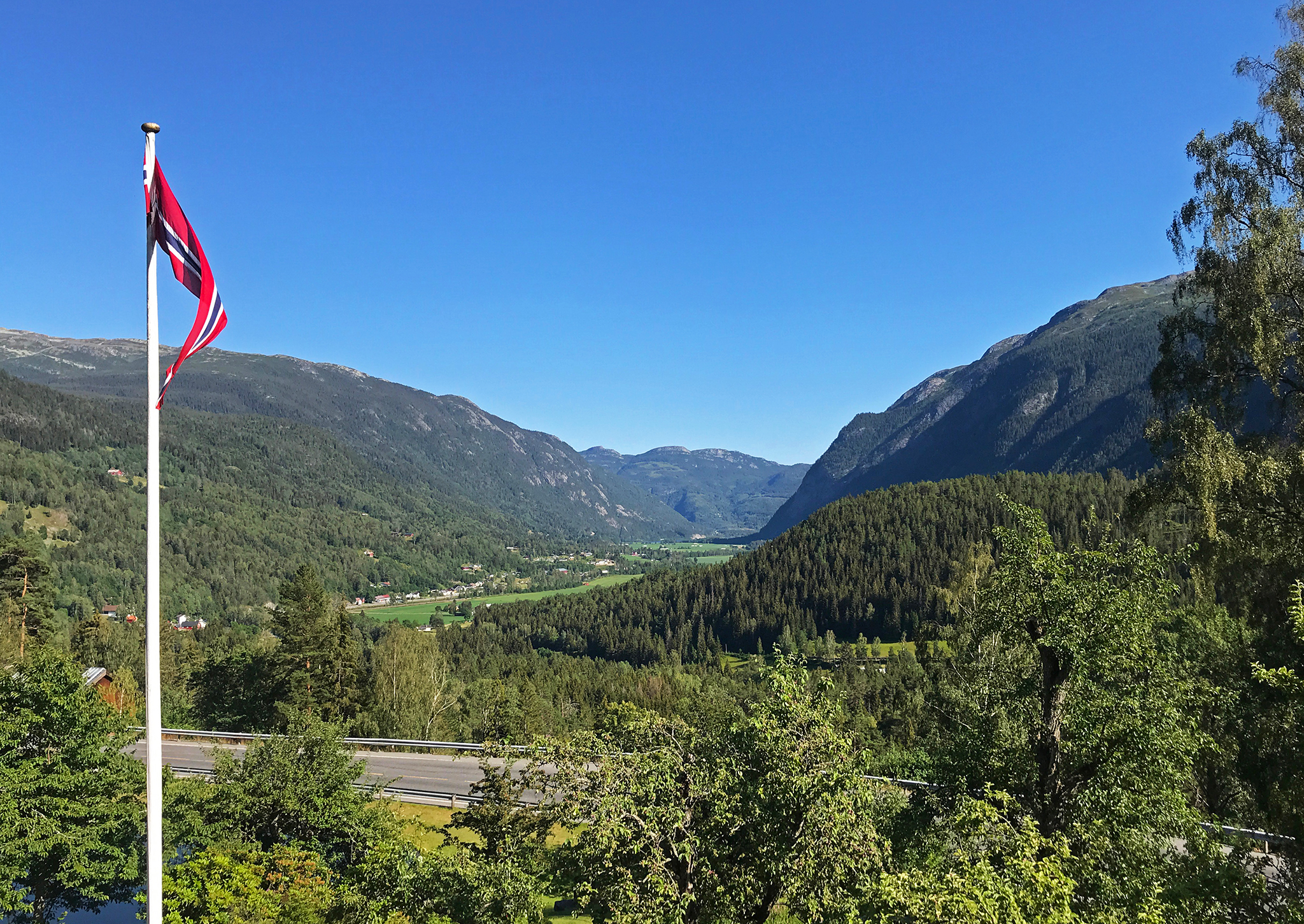 Flatdal (Flat valley) Norway, mid-July 2019