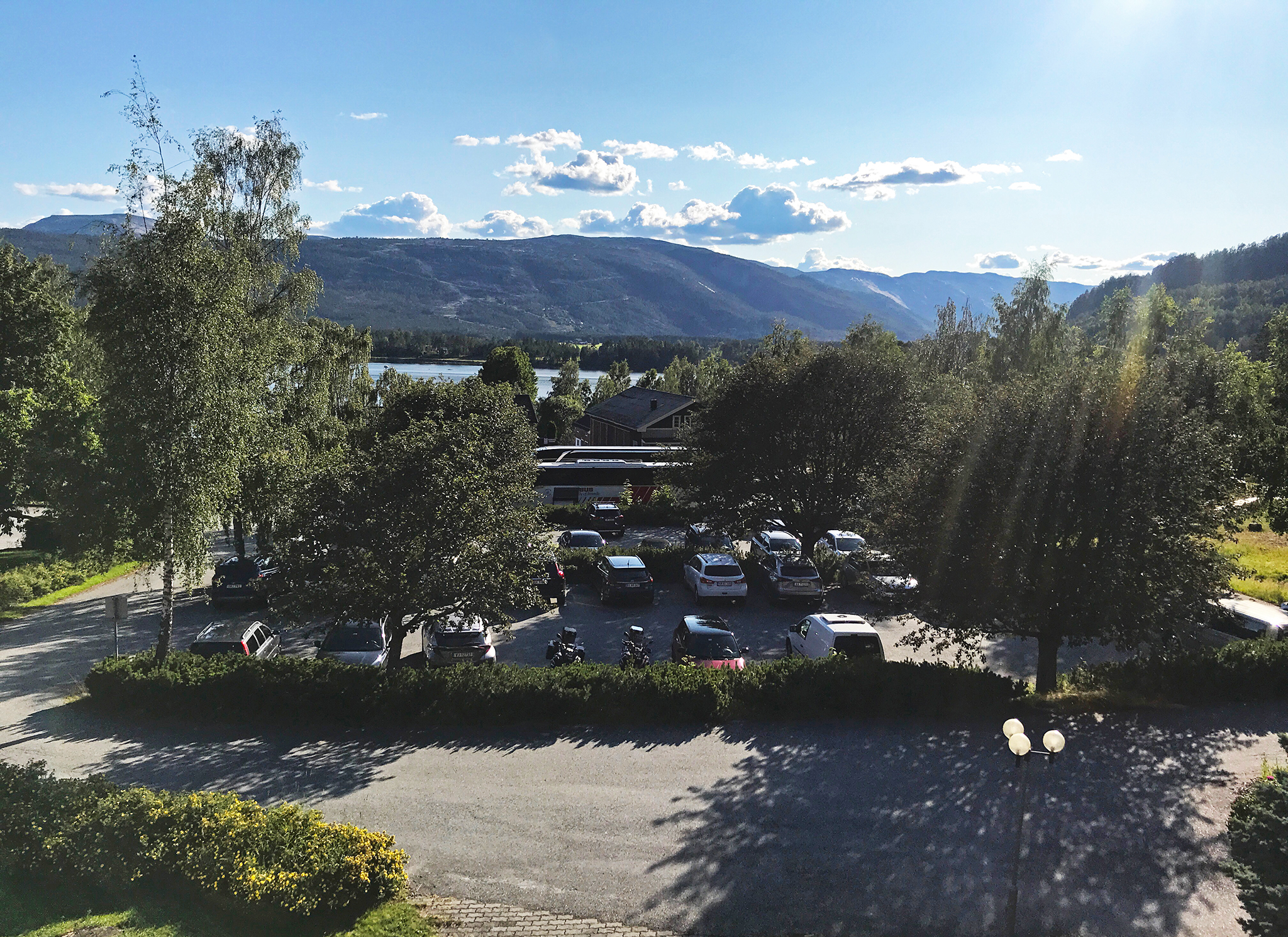 View from Straand hotel, Vrådal