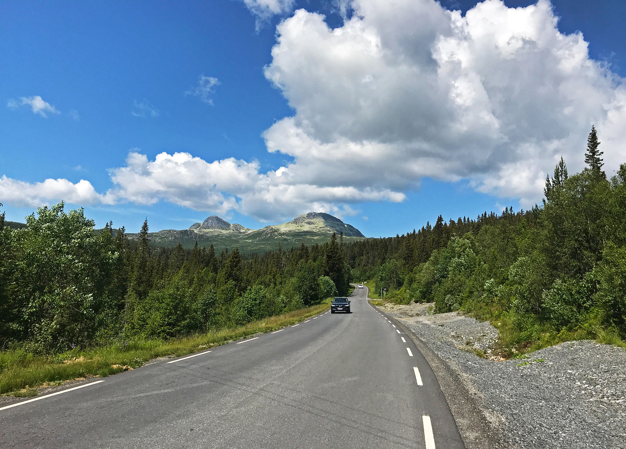 The long way home: Fv651 from Tuddal to Gaustadtoppen, and down towards Rjukan